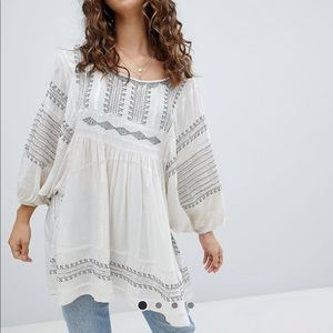 Free People Wild One Smock Top